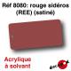 Rouge sidéros (REE) (satiné) [acrylique à solvant]