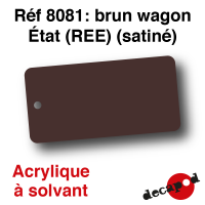 Rouge sidéros (REE) [acrylique à solvant]