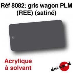 Gris wagon PLM (REE) (satiné) [acrylique à solvant]