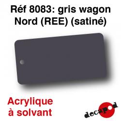 Gris wagon Nord (REE) (satiné) [acrylique à solvant]