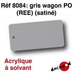 Gris wagon PO (REE) (satiné) [acrylique à solvant]