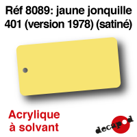 Jaune jonquille 401 version 1978 [acrylique à solvant]