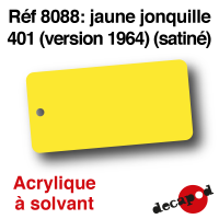Jaune jonquille 401 version 1964 [acrylique à solvant]