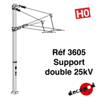 Support double 25kV [HO]