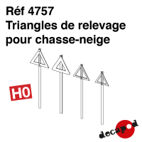 Triangles de relevage pour chasse-neige [HO]
