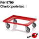 Chariot porte bac