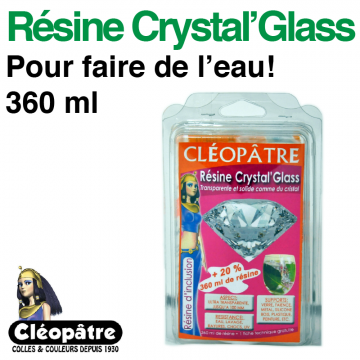 Résine Crystal Glass (360 ml)