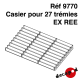 Casier pour 27 trémies Ex REE