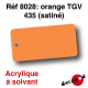 Orange TGV 435 (satiné) [acrylique à solvant]