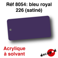 Bleu royal 226 [acrylique à solvant]