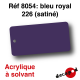 Bleu royal 226 (satiné) [acrylique à solvant]