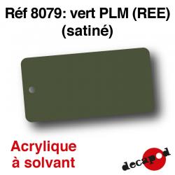Vert PLM (REE) (satiné) [acrylique à solvant]