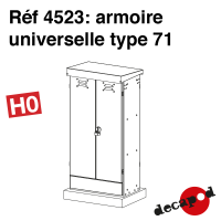 Armoire universelle type 71 [HO]