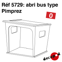 Abri bus type Pimprez
