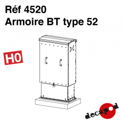 Armoire BT type 52 [HO]