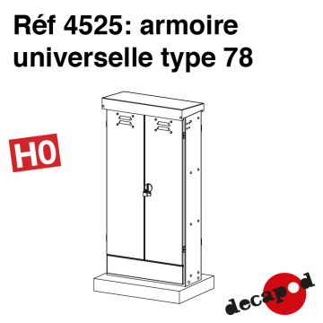 Armoire universelle type 78 [HO]