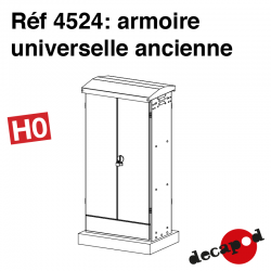 Armoire universelle ancienne [HO]
