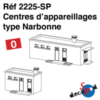 Centres d'appareillages type Narbonne [O]